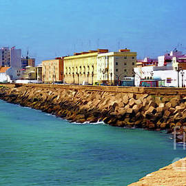 Seafront Promenade in Cadiz by Sue Melvin
