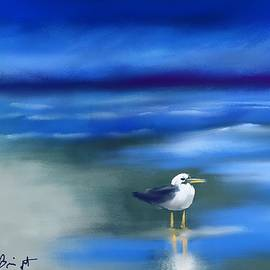 Frank Bright - Seagull Standing 2