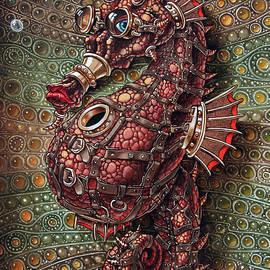 Victor Molev - Seahorse in steampunk