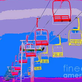 Seaside Heights Sky Ride by Ed Weidman