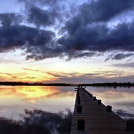 Bob Cuthbert - Seaside Sunset