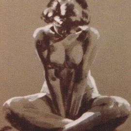 Seated Nude by Barbara Keith