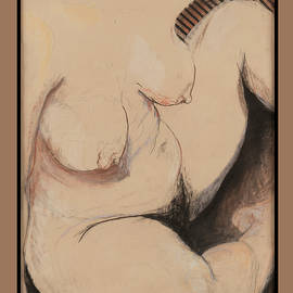 Seated Nude by Lynne Guess