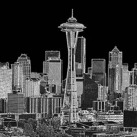 Larry Keahey - Seattle Black and White