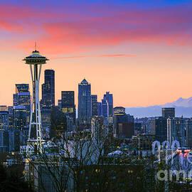 Seattle Waking Up by Inge Johnsson