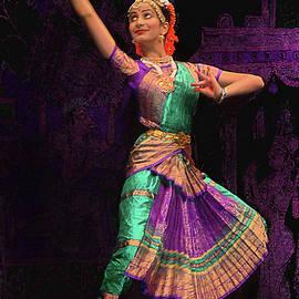 Seattle Folklife - Indian Dancing 2 by Jeff Burgess