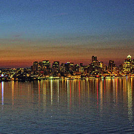 John Dauer - Seattle Skyline