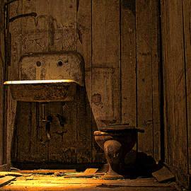 Seattle Underground Bathroom by David Patterson