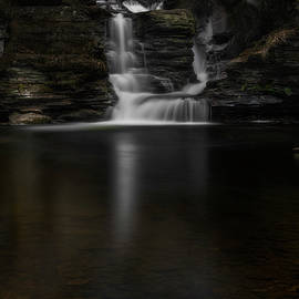 Secret Forest Falls by John Maslowski