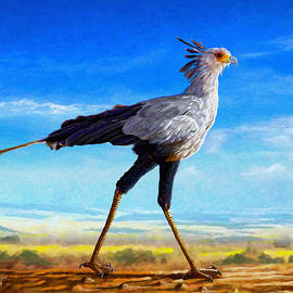 Anthony Mwangi - Secretary Bird