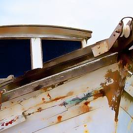 Secrets of the Past, Wooden Fishing Boat, Moss Landing, California by Flying Z Photography by Zayne Diamond