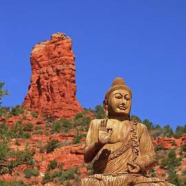 Sedona # 23 - Amitabha Stupa and Peace Park by Allen Beatty