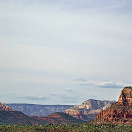 Sedona Arizona Panorama I by Dave Gordon
