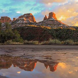 Sedona Reflections by Robert Aycock