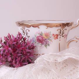 Sandra Foster - Sedum Flower Still Life