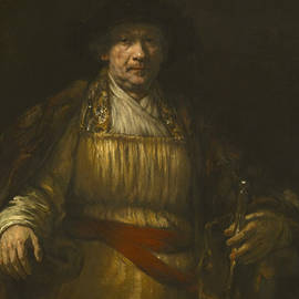 Self-portrait, 1658 by Rembrandt