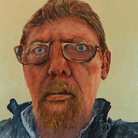 Self Portrait by E Colin Williams ARCA