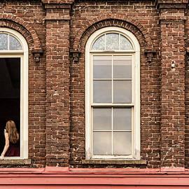 Selfie in the Window by Sharon Popek
