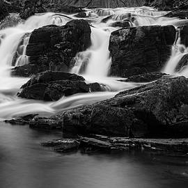 Andreas Levi - Selkefall, Harz in black and white