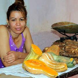 Laurel Talabere - Selling Produce in the Cienfuegos Public Market
