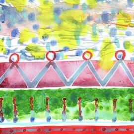 Heidi Capitaine - Semi-Abstract Cloud Bridge Pattern
