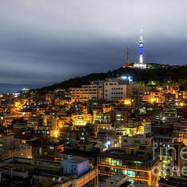 Aaron Choi - Seoul city at night