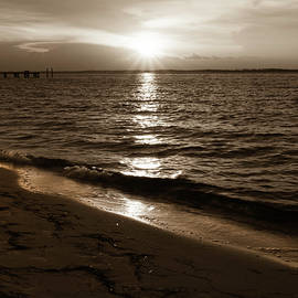 Sepia Sunset by Keith Smith