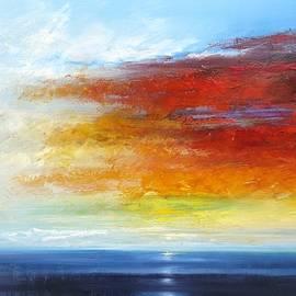 George Peebles - September sunset