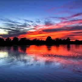 Serene Sunset by Saija  Lehtonen