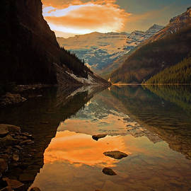 Serene Waters at Lake Louise by Tara Turner