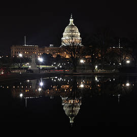 Serenity At Our Capitol ... An Isolated Event by Don Mercer