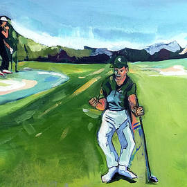 Sergio And Rose 2017 Masters by John Jr Gholson
