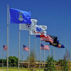 Service Flags by Allen Sheffield