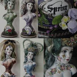 Set of Busts - 4 Seasons