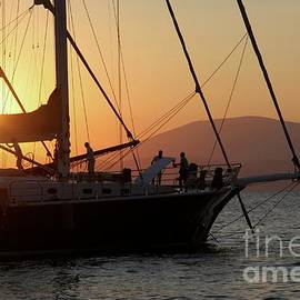 Clay Cofer - Set Sail on the Aegean at Sunset
