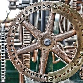 Seth Thomas 1911 Clock Mechanism in Bromo Seltzer Tower Baltimore - Marianna Mills