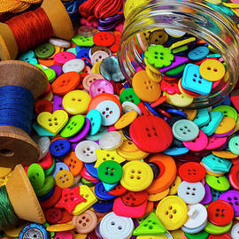 Sewing Buttons And Thread - Garry Gay