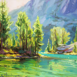 Steve Henderson - Shades of Turquoise
