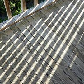 Shadow Lines on the Deck by Terry Cobb