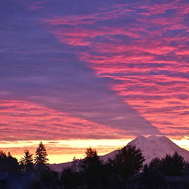 Shadow of Mount Rainier