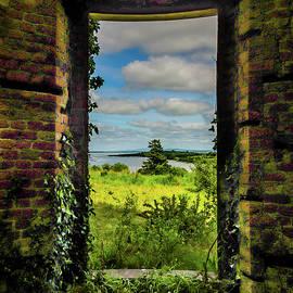 Shannon Estuary From Abandoned Paradise House by James Truett