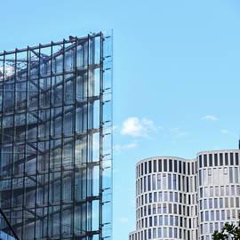 Sharp vs rounded. Berlin by Jouko Lehto