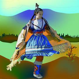 Kae Cheatham - Shawl Dancer 1