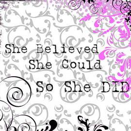 She Believed  by Andrea Kollo