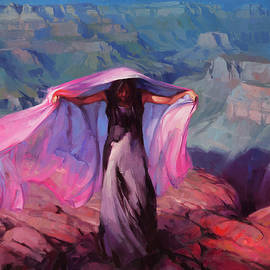 She Danced by the Light of the Moon by Steve Henderson