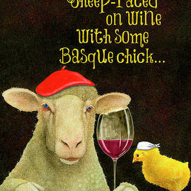 sheep-faced on wine with some Basque chick... - Will Bullas