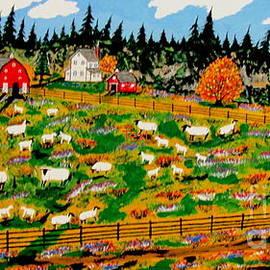 Sheep Farm by Jeffrey Koss