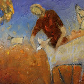 Sheep Herder by Suzy Norris