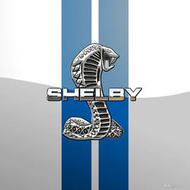 Shelby Cobra - 3D Badge