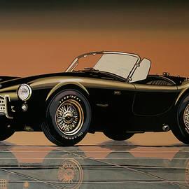 Paul Meijering - Shelby Cobra 1962 Painting
